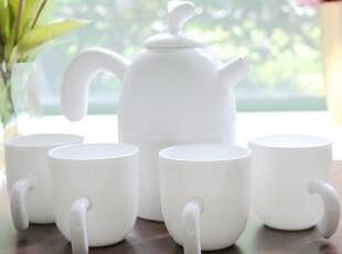 唐商 骨质瓷茶壶 功夫茶具套装 咖啡具 创意礼品 包邮,茶具,