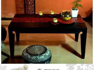 中式仿古家具古典家俬/中国风/休闲茶几/长条案几/花影茶几-长,茶几,