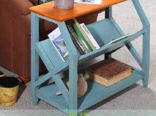 特价可定制 美式乡村沙发边几 地中海做旧电话桌 角几 实木家具,茶几,