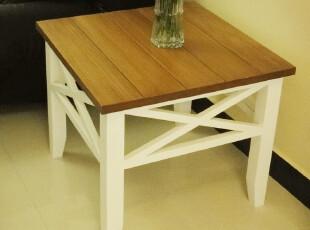 简约家居饰品 韩式 白色实木沙发边几 角几 茶几 可做小餐桌,茶几,