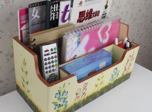 手绘收纳盒 遥控器盒 杂物收纳盒、床头柜盒,衣柜,