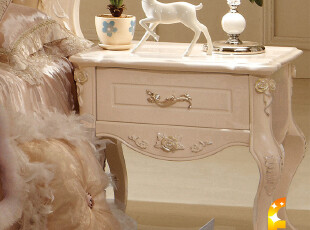 法丽莎家具 欧式 床头柜 收纳柜 法式床头柜 实木 储物柜 特价,衣柜,
