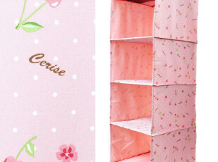 7.28 Zami/宅美 衣橱收纳挂袋 粉色樱桃 4534 1.1kg,衣柜,