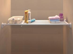 纳悠悠 日式超大承重 空间伸缩置物架 衣橱柜隔层板 收纳架小,衣柜,