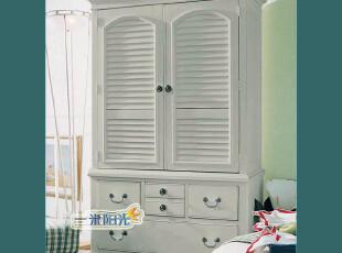 厂家定制/美式乡村/欧式田园/地中海风格/实木环保家具 衣柜,衣柜,