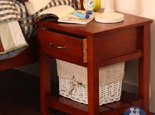 艾伦艾妮安德鲁 儿童套房 床头柜 美式简约 实木床头柜 储物柜,衣柜,