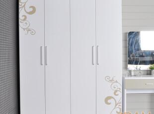 达美家具 特价组合衣柜平拉门 简约现代整体衣橱衣柜 定制 D20,衣柜,
