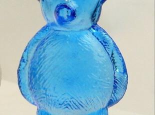 日本 DULTON 小熊玻璃调味罐 厨房调料瓶 创意厨具 家居 一对2个,调味罐,