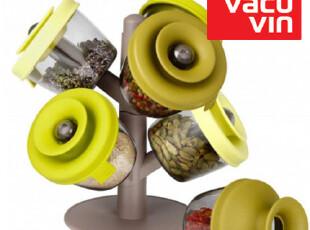 进口Vacu Vin创意储物罐 密封罐 塑料罐零食罐 调料罐 糖果罐套装,调味罐,