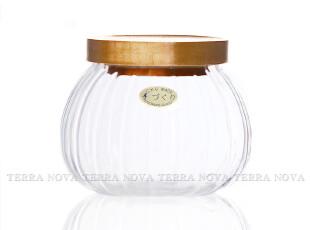 台湾品牌 CHIKAO 精选系列 玻璃密封罐 储物罐 茶叶罐 木盖子,调味罐,
