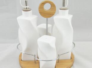 欧式厨房用品创意陶瓷调味瓶套装调料瓶调味罐瓶罐醋瓶酱油瓶,调味罐,