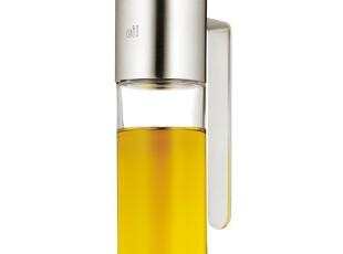 三皇冠店 德国原装进口 福腾宝WMF 不锈钢口玻璃油瓶 0619166030,调味罐,