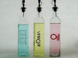 特价 厨房用品 玻璃 出口 油瓶 油壶 酱油瓶油醋瓶 防漏大号500ml,调味罐,
