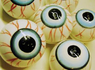 海外直邮!现货恶趣味MISHKA眼球Kreepsville 666调味瓶,调味罐,