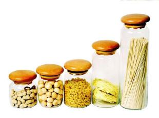 710-714密封罐/储物罐/玻璃罐/ ZAKKA/出口餐具 宜家 厂家直销,调味罐,