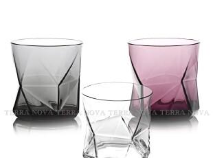 意大利进口 Bormioli 钻石系列 无铅玻璃水杯 威士忌杯 三色可选,调味罐,