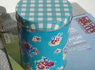 田园风格铁皮茶叶罐储物罐零食罐咖啡罐收纳罐,调味罐,