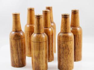 厨具厨房 和风系列 木制品  调味瓶 胡椒粉瓶 日式餐具 料理专用,调味罐,