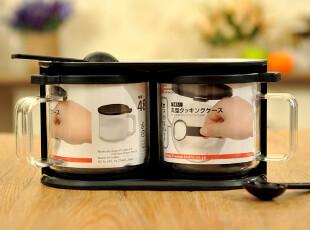 JP3397 日本LEC 调味料盒 调味料盒套装 调料瓶存储盒套装,调味罐,