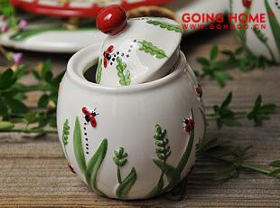 可爱瓢虫 陶瓷 小罐 调味罐 25元1个,调味罐,