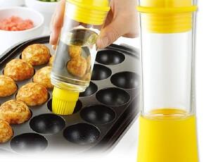 arnest节油壶带硅胶刷头100ml 健康烧烤炉防漏油瓶调味瓶厨房用具,调味罐,