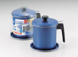 日本珍珠生活,宝石蓝带过滤功能油壶 (2201),调味罐,