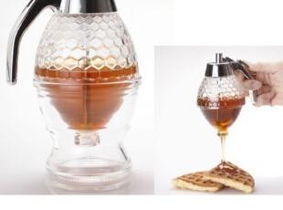 畅销产品创意家居亚克力蜂蜜罐子、蜂蜜瓶、蜂蜜塑料瓶罐,调味罐,