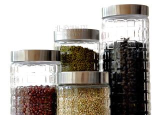 火爆热销 宜家玻璃密封罐/储物储藏/保鲜干果糖果茶叶豆类玻璃罐,调味罐,