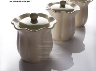 储物罐 陶瓷 欧式储物罐 密封罐 日本订单 白菜储物罐 厨房储物罐,调味罐,