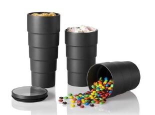 丹麦PO: 镜头造型密封瓶 储物罐 密封罐 密封盒 创意家居 礼品,调味罐,