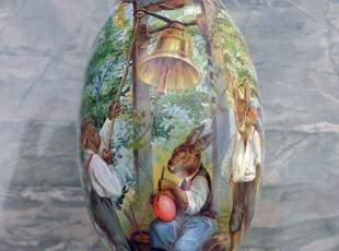 特价秒杀复活节彩蛋 铁盒马口铁糖果喜糖收纳盒 气球兔,铁盒,