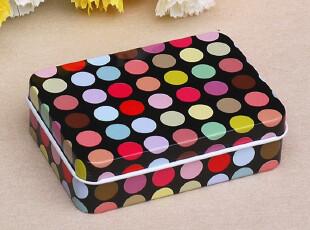 正方 喜糖盒 创意 个性 糖盒子 高档牌盒子 马口铁盒 糖盒 扑克盒,铁盒,