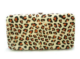 时尚潮流热卖12新款韩版个性豹纹饭盒钱包铁盒票夹手拿铅笔盒钱包,铁盒,