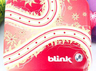 德国进口Blink 冰力克无糖含片糖 草莓味 镶水晶铁盒子 15克,铁盒,