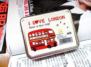 2012新款飞越伦敦铁盒扑克牌娱乐牌收纳盒系列特价促销,铁盒,