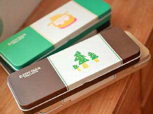 zaa杂啊 瞌睡的农场 可爱创意马口铁铅笔盒 文具盒 收纳铁盒,铁盒,