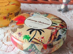 大肚夏威夷风格铁罐 铁盒 家居摆件 装饰首饰盒 双色可选,铁盒,