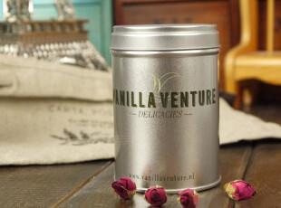 zakka日用收纳铁盒 简易素色vanilla venture MINI圆罐铁罐,铁盒,