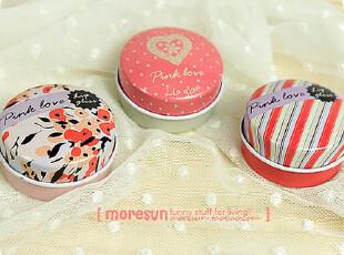 pink love。铁盒 铁皮收纳盒 随身盒 糖盒 药盒,铁盒,