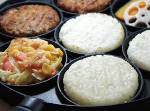 日本 汉堡肉饼烤板 平底锅 煎锅 现货,锅具,
