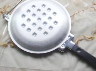 华夫饼模 日式双面平底煎锅 PANCAKE 平底锅 面包锅 买一送二,锅具,