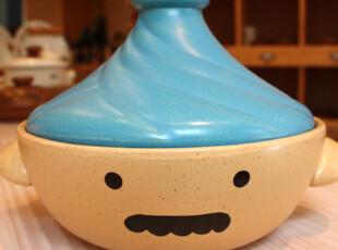 『韩国进口家居』R751 *蓝帽子大叔*微波炉烤箱可用*酱汤锅石锅,锅具,