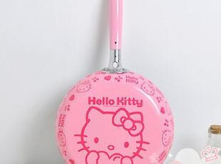 ★公主梦想★韩国*HelloKitty*26CM直径粉色不粘锅平底锅 W1929,锅具,