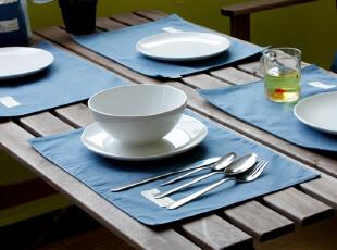 【4件包邮】北欧式宜家风布艺纯棉麻大号碗垫盘垫隔热垫餐垫套装,隔热垫,