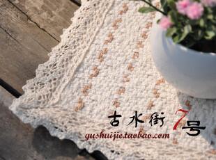多彩生活 纯棉编织花边碗垫餐垫隔热垫 鼠标垫 茶具垫 花色随机,隔热垫,