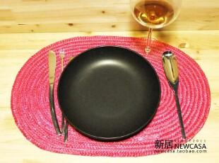 特价 外贸原单草编餐垫 ikea宜家风格 六色可选,隔热垫,