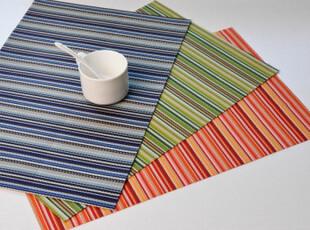 特价!PVC 清新环保餐垫 隔热餐垫 餐桌垫 杯垫 30*45 三色,隔热垫,