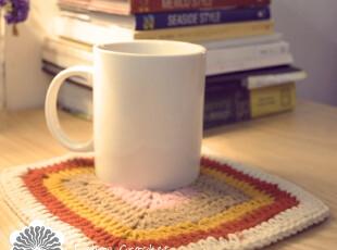 【良本】荐  手钩针餐垫隔热垫餐桌垫碗垫杯垫盘垫锅垫,隔热垫,