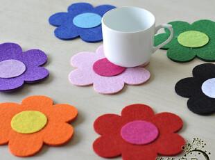回归自然 太阳花 无纺布餐垫 镂空餐垫|桌垫|杯垫,隔热垫,