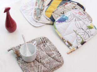 笑笑家居 新品 纯棉桌垫|锅垫|隔热垫|碗垫 餐垫 多款式,隔热垫,